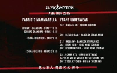 Italian Dance Wave Asia Tour 2015