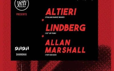 Friday 25.05.2018 – Altieri at Dada Bar / Italian Dance Wave Asia