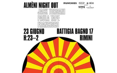 Saturday 23.06.2018 – Al Mèni Night Out feat. Francisco