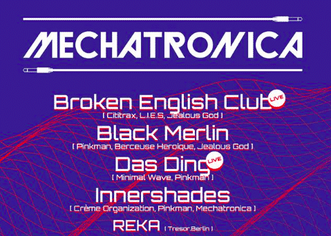 Saturday 30.06.2018 – Mechatronica 24hrs with Franz Scala